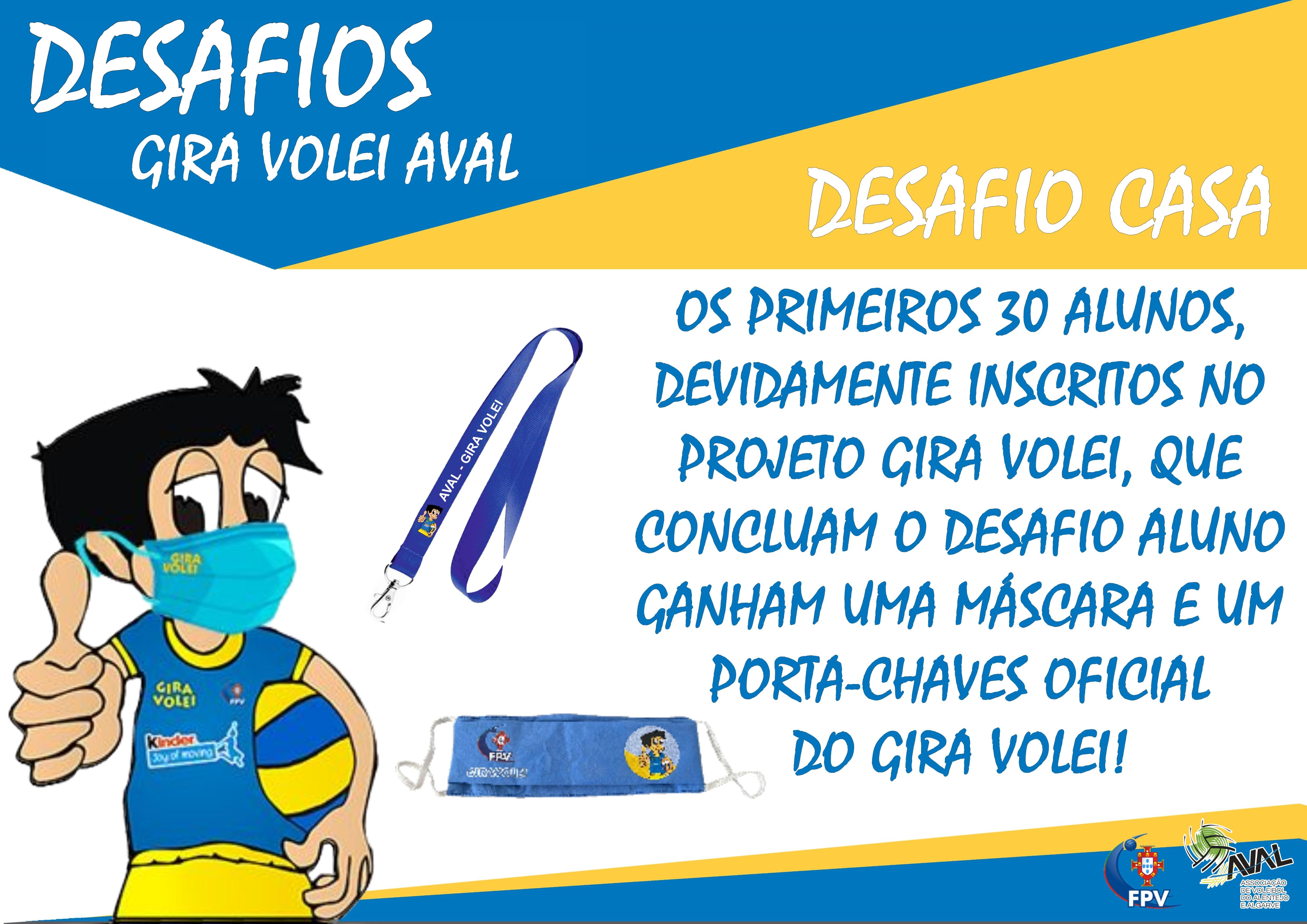 DESAFIOS ALUNO CASA